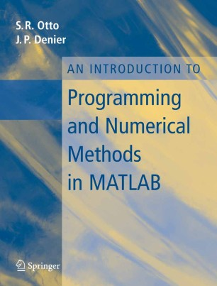 An Introduction to Programming and Numerical Methods in