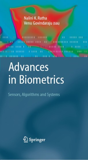 Advances in Biometrics | SpringerLink