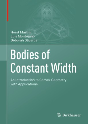 Bodies of Constant Width Front Cover