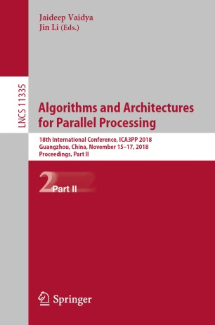 Algorithms and Architectures for Parallel Processing | SpringerLink