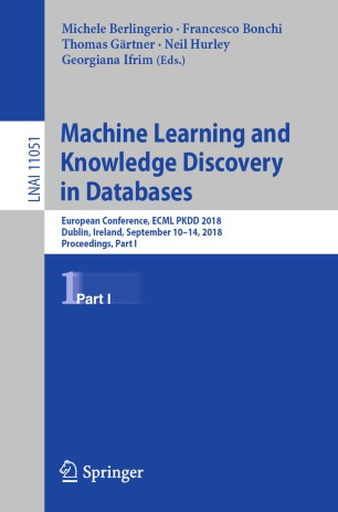 Machine Learning and Knowledge Discovery in Databases | SpringerLink