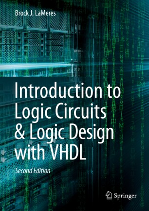 Introduction To Logic Circuits Logic Design With Vhdl Springerlink