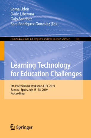 LTEC 2019 | 8th International Workshop on Learning Technology for