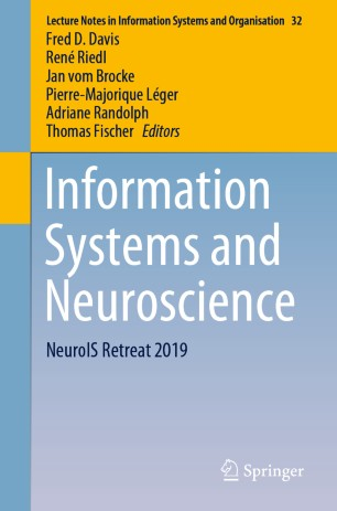 Information Systems Neuroscience 2020 978-3-030-28144-1