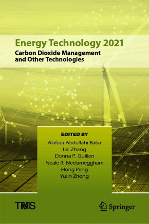 Energy Technology 2021: Carbon Dioxide Management and Other Technologies