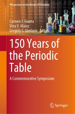 Front cover of 150 Years of the Periodic Table