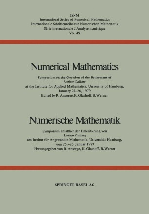 Numerical Mathematics / Numerische Mathematik