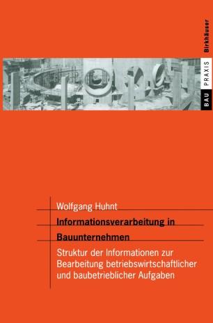 Informationsverarbeitung in Bauunternehmen