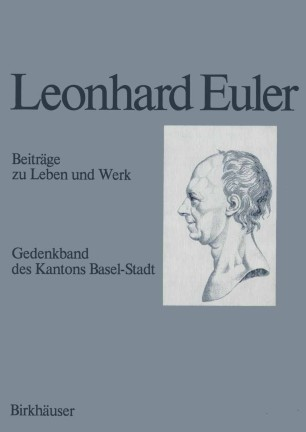 Leonhard Euler 1707–1783