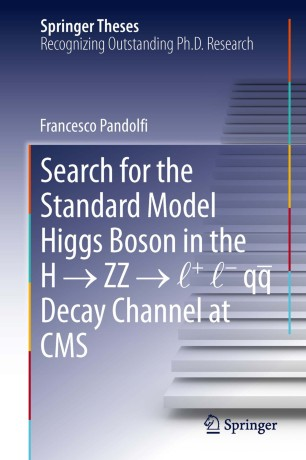 Search For The Standard Model Higgs Boson In The H Zz L L Qq Decay Channel At Cms Springerlink