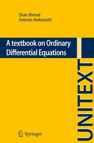 A textbook on ordinary differential equations springerlink fandeluxe Images
