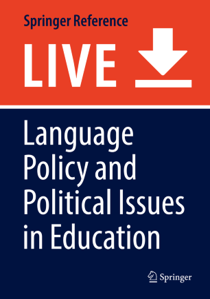 Language Policy and Political Issues in Education | SpringerLink