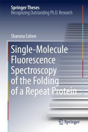 Single-Molecule Fluorescence Spectroscopy of the Folding of a Repeat Protein :