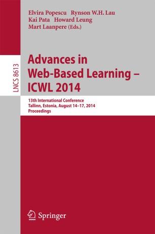 Advances in Web-Based Learning – ICWL 2014