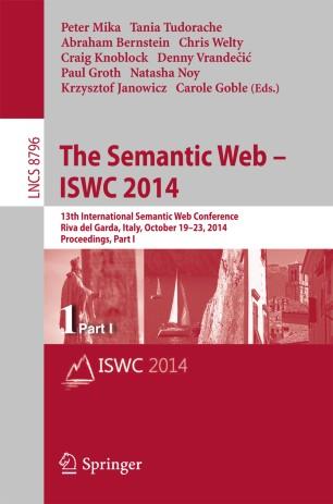 The Semantic Web – ISWC 2014
