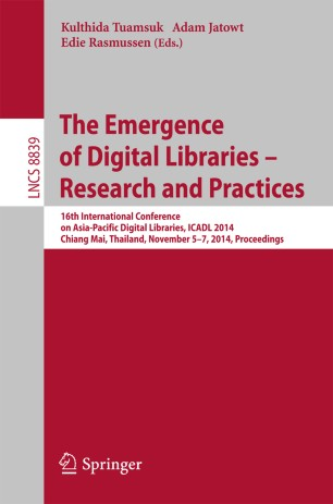 The Emergence of Digital Libraries – Research and Practices
