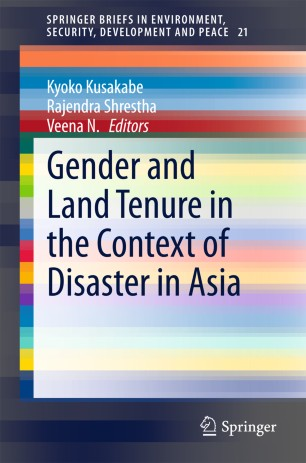 Gender and Land Tenure in the Context of Disaster in Asia