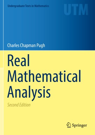 Real Mathematical Analysis | SpringerLink