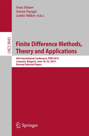 Finite Difference Methods,Theory and Applications | SpringerLink