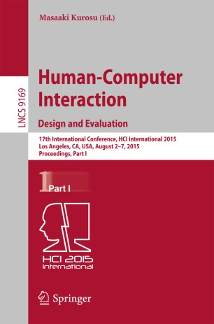Human-Computer Interaction: Design and Evaluation