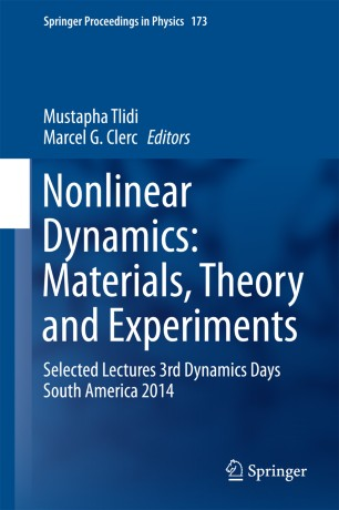Nonlinear Dynamics: Materials, Theory and Experiments | SpringerLink