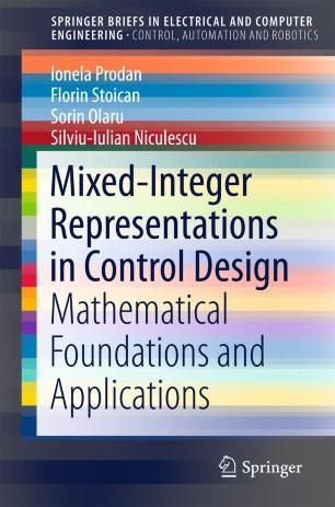 Mixed-Integer Representations in Control Design