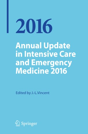 Annual Update in Intensive Care and Emergency Medicine 2016 :