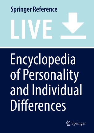 Encyclopedia of Personality and Individual Differences :