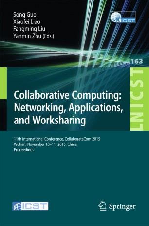 Collaborative Computing: Networking, Applications, and Worksharing