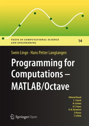 Programming for Computations - MATLAB/Octave | SpringerLink