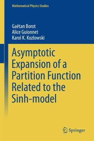 Asymptotic Expansion of a Partition Function Related to the Sinh-model
