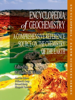 [Encyclopedia of Geochemistry]