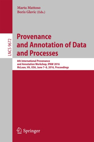 Provenance and Annotation of Data and Processes