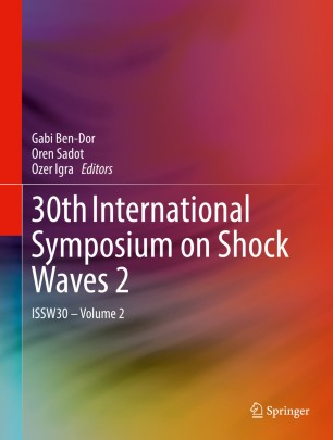 30th International Symposium on Shock Waves 2