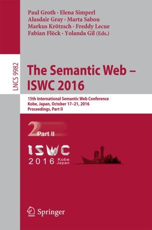 The Semantic Web – ISWC 2016