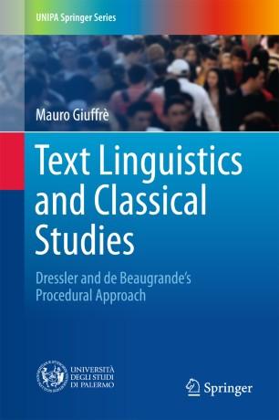 Text Linguistics and Classical Studies