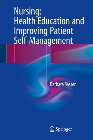Nursing: Health Education and Improving Patient Self-Management :