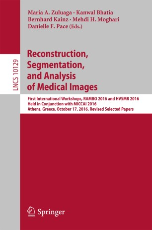 Reconstruction, Segmentation, and Analysis of Medical Images
