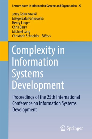 Complexity in Information Systems Development