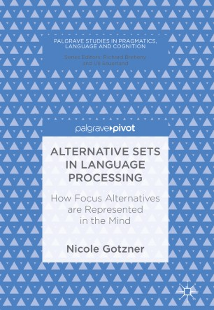Alternative Sets in Language Processing