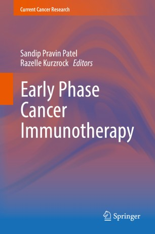 Early Phase Cancer Immunotherapy  :