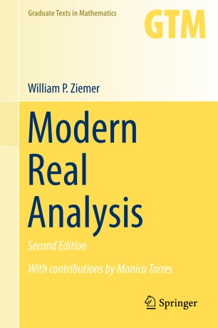 Modern Real Analysis | SpringerLink