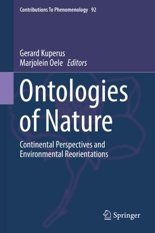 Ontologies of Nature