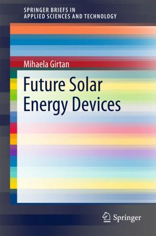 Future Solar Energy Devices
