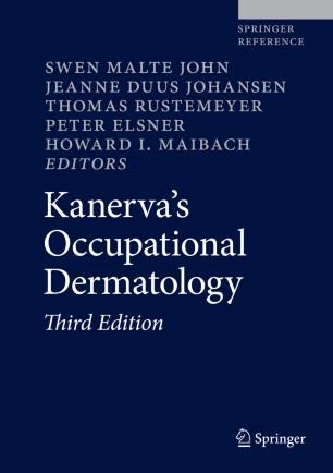 Kanerva's Occupational Dermatology 2020 978-3-319-68617-2