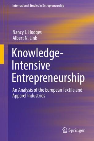 Knowledge-Intensive Entrepreneurship | SpringerLink