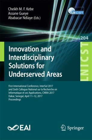 Innovation and Interdisciplinary Solutions for Underserved Areas