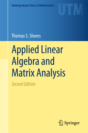 Applied Linear Algebra and Matrix Analysis