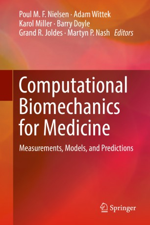 Computational Biomechanics Medicine 2019 978-3-319-75589-2