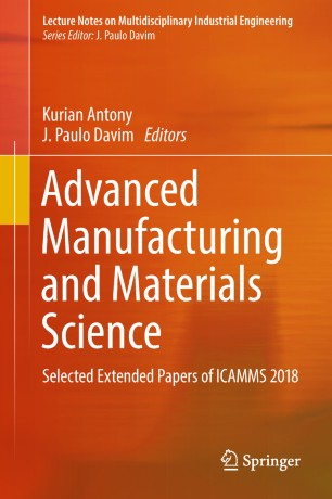 Advanced Manufacturing and Materials Science | SpringerLink